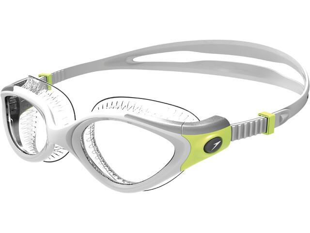 speedo Futura Biofuse Flexiseal Goggles Dam green/clear